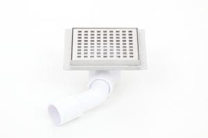 Podlahová vpusť 100x100, plastový sifon