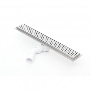 Sprchový odvodňovací žláb Silver 500 mm