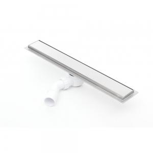 Sprchový odvodňovací žláb Silver 600 mm