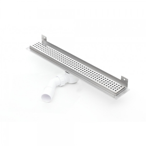 Nástěnný sprchový odvodňovací žláb Silver 500 mm