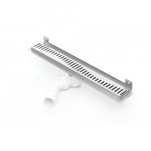 Nástěnný sprchový odvodňovací žláb Silver 800 mm