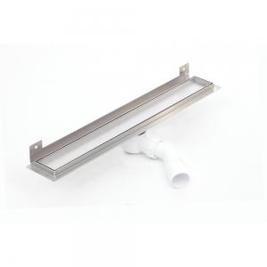 Nástěnný sprchový odvodňovací žláb Silver pro obklad 500 mm